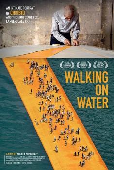 Christo - Walking on water (2019)