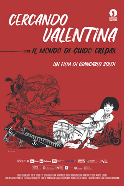 Cercando Valentina - Il mondo di Guido Crepax (2019)