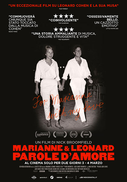 Marianne e Leonard. Parole d'amore (2019)